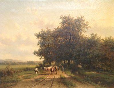 Willem Vester: landschap rond Heemstede (Kunstkamer Wijdemeren)