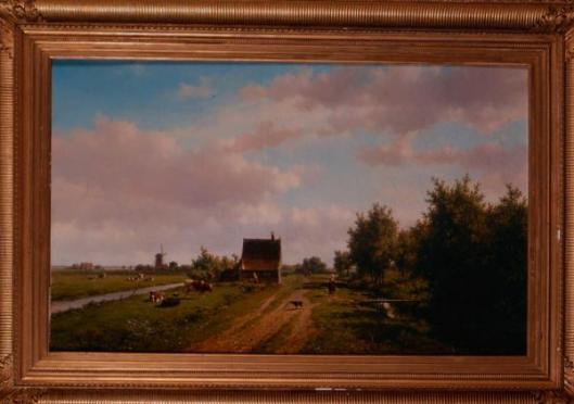 Onlangs bij Daguerre in Parijs geveild doek van Willem Vester voor 5.800 euro