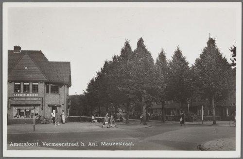 Leesbibliotheek Vermeerstraat/Anton Mauvestraat in Amersfoort, circa 1950