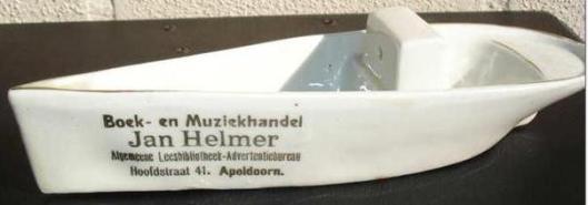 Adv. Boek- en Muziekhandel, Leesbibliotheek Jan Helmer in Apeldoorn