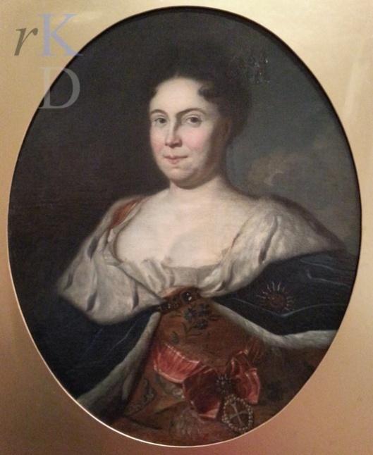 Tsarina Catharina I (1684-1717) door Carel de Moor, 1717. In bezit van de Hermitage, Sint Petersburg (foto RKD)