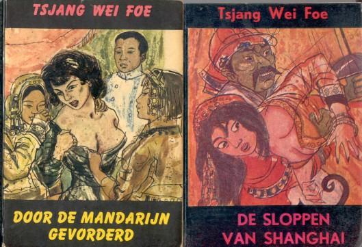 Geliefd in de winkelbibliotheken waren de (colportage) romannetjes van Herman Nicolaas van der Voort (1900-1982) die onder enkele tienrallen schuilnamen erotische romans schreef. Hij is ooit 'de keizer van de buurbibliotheken' genoemd (Spanningblog).