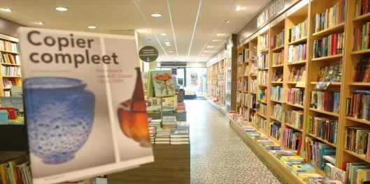 Interieurfoto van boekhandel Blokker in Heemstede