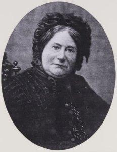Mw. Johanna ElisabethPhilippina Dolleman-Kleine (1892-1966), echtgenote van notaris Jan Dolleman Jr.