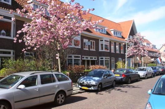 Huizen in Van Egmondstraat ontworpen door C. van Gelder