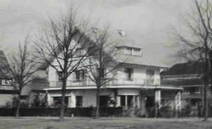 Het door ir.H.van Tongeren ontworpen huis Herfstlaan 20 in Heemstede