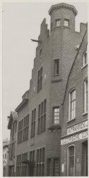 Gebouw Haarlemse Jongemannenvereniging Haarlem, lange margarethastraat 13 (1935)
