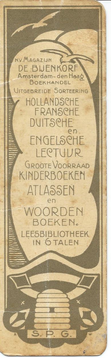 leesbibliotheek de Bijenkorf