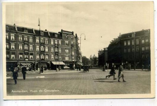 Leesbibliotheek, Hugo de Grrotplein Amsterdam, 1944