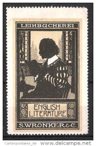 Reclameplaatje Leihbücherei S.Wrankler & Co.