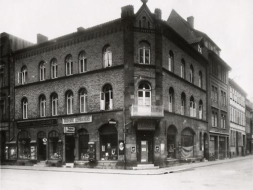 'Moderne Leihbücherei' van Liebermann in Göttingen (1941)