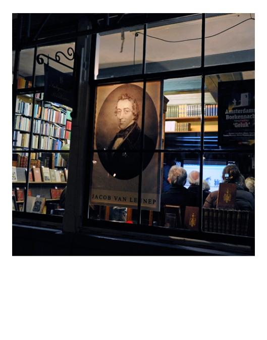 Foto van 'Brinkman's Letterkundig Magazijn, gewijd aan Jacob van Lennep tijdens de Amsterdamse Boekennacht, 13 april 2012