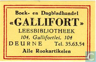 Leesbibliotheek Gallifort, Deurne Antwerpen
