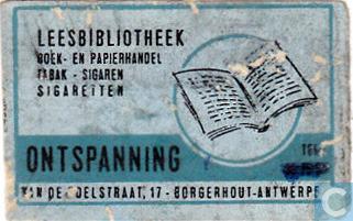 Leesbibliotheek Ontspanning, Borgerhout Antwerpen