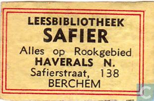 Leesbibliotheek Safier, Berchem Antwerpen