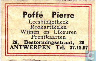 Leesbibliotheek Poffé Pierre, Antwerpen