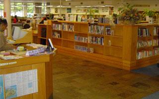 Pinelands Library, gelegen in een voorstad van Kaapstad
