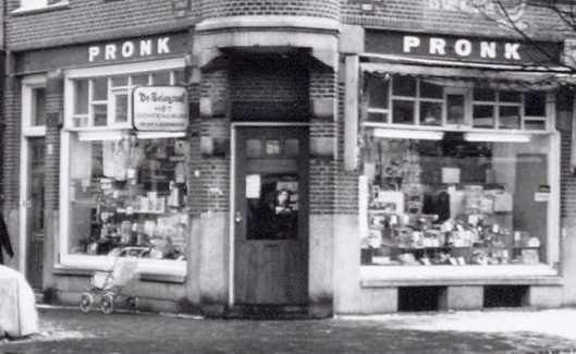 Kantoorboekhandel/Leesbibliotheek Pronk, Pretoriusstraat 33, Amsterdam