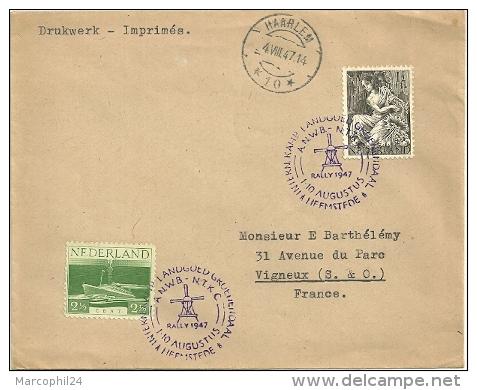 Poststempel van Rally Heemstede 1947