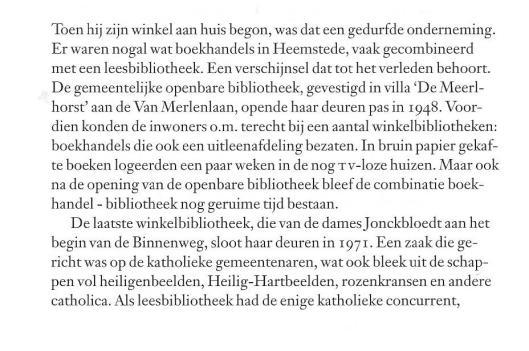 Hans van der Prijt: 50 jaar boekhandel Blokker(2005), over: 'Aaartsvader Blokker', oprichter van de boekhandel.