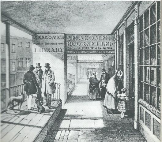 Afbeelding van Seacome's boekenwinkel annex leesbibliotheek