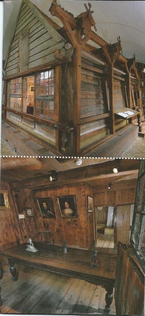 Exterieur en interieur van het Czaar Peter Huisje in Zaandam