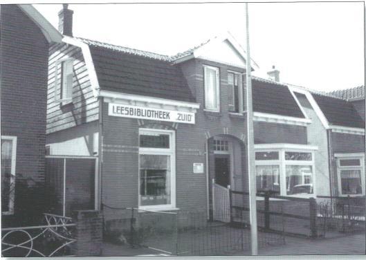 Hamerstraat 86 in Bussum waar voor WOII de Leesbibliotheek 'Zuid' was gevestigd.