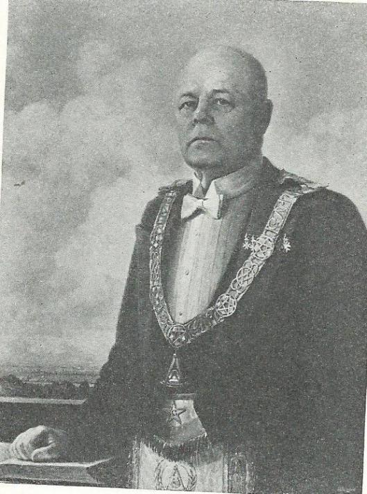 Generaal-majoor der genie KNIL Hermannus van Tongeren, vader van Herman van Tongeren (foto Jet Goldstein).