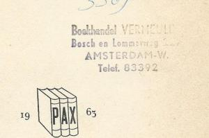 Boekh.-Leesbibliotheek Vermeulen, Amsterdam-W.