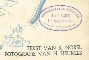 Boekhandel en leesbibliotheek D.de Vries, J.P.Heijestraat 191, Amsterdam-W