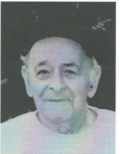 Portret van Joseph Mendes sr. (1913-2002), lid van de Groep 2000. Hij zat in de gevangenis aan de Amstelveenseweg met Hermannus van Tongeren en is zo in contact gekomen met diens dochter Jacoba en groep 2000