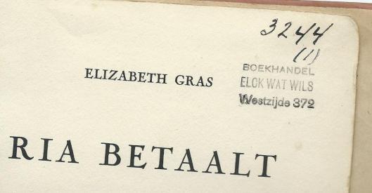 Leesbibliotheek 'Elck wat wils', Westeinde Den Haag