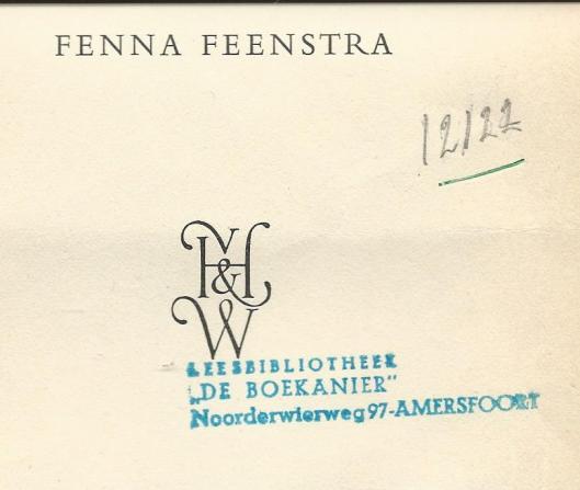 Leesbibliotheek 'De Boekanier', Noorderwierweg 97, Amersfoort
