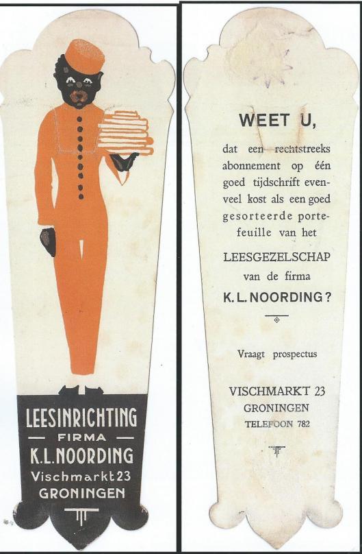 Bladwijzer van Leesbibliotheek K.L.Noording Groningen