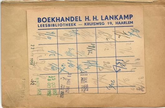 Lankamp was een van de grotere leesbibliotheken in Haarlem
