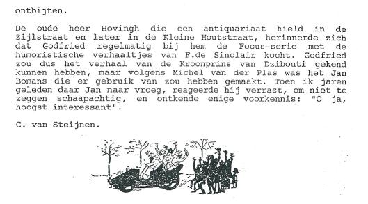 Artikel Cees van Steijnen. Slot