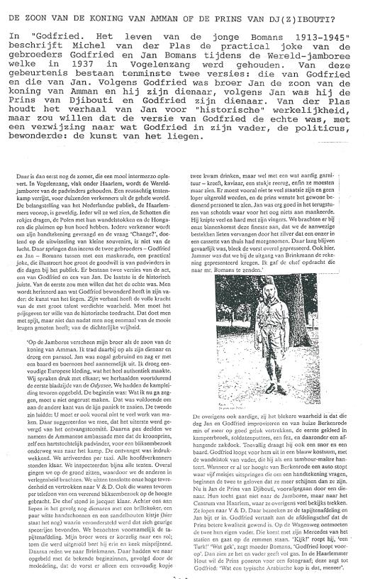Artikel Cees van Steijnen uit Beschreven Bladen (1)