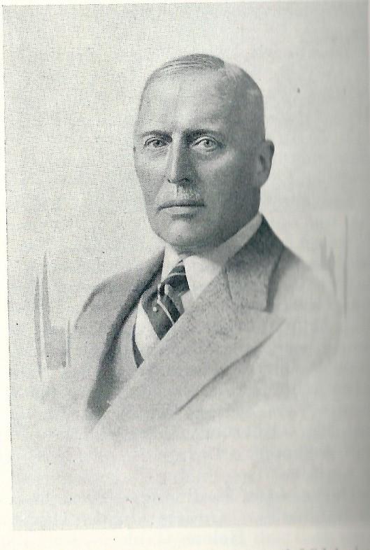 Willem Anthonie Dolleman (1877-1962) op een foto uit circa 1938.