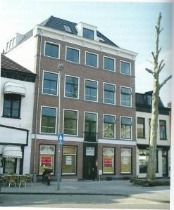 Het pand Houtplein 32 hedentendage (foto martin Busker)