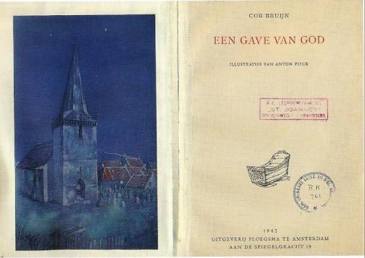 Boek uit leesbibliotheek St. Joannes, dat in 1948 overging naar de Rooms katholieke Openbare Leeszaal en Bibliotheek