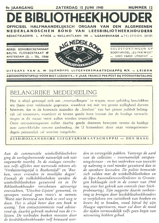 Uit: Paul Schneiders, Lezen voor iedereen. Den Haag, NBLC, 1990.