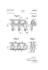 Tekening behorend bij patent US3084798, op 11 augustus 1932 aangevraagd door Hermannus van Tongeren voor zijn 'dust collector [stofvanger ofwel cycloon], welk patent op 5 mei 1936 is erkend. Zie: http://www.google.com/patents/US3084798