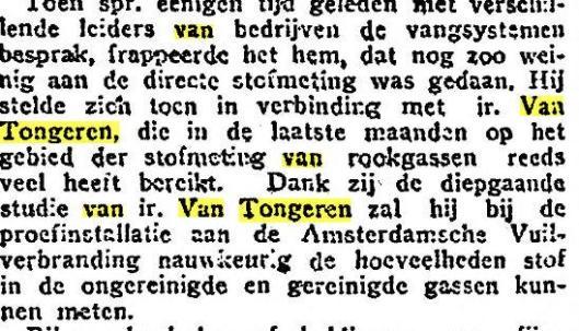 Citaat over Van Tongeren-cycloon in Amsterdam-Noord, uit: Het Vaderland van 3--1-1929