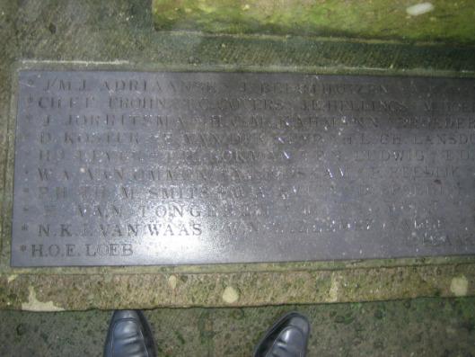 In 1948 is een erelijst van Heemsteeds oorlogsslachtoffers samengesteld met45 namen. Deze zijn ook gegraveerd op een metalen plaat aan de voet van het door Mari Andriessen vervaardigde oorlogsmonument inclusief de naam van H.van Tongeren.