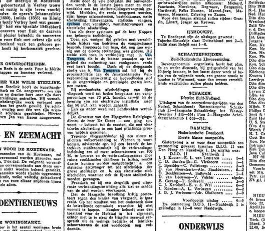 Deel van een bericht: 'Het verspreiden van stof door verbrandingsinrichtingen', uit: Het Vaderland, 30 januari 1929