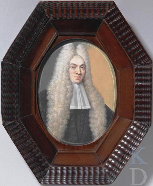 Portetschilderij van Francois de Vicq (1679-1730) (RKD; iconografisch bureau)