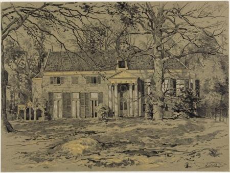 Buiten Vredenhof. (Noord-Hollands Archief). Zie ook: Verhaal Vredenhof, op site van Oneindig Noord-Holland.