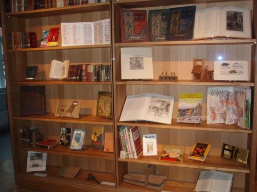Boeken gewijd aan de Rattenvanger van Hamelen (Museum Hameln)