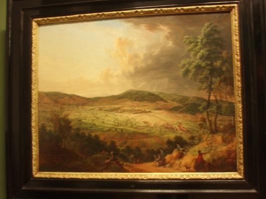 Blick auf Pyrmont von Süden (Chr.Georg Schütz d.A., 1775)