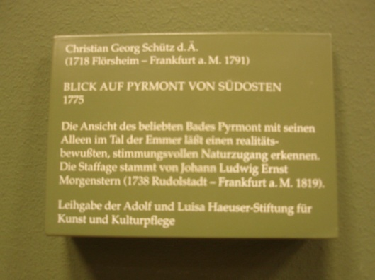 (Frankfurt am Main, Goethe-Haus)